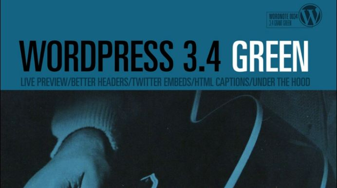 Wordpress 3.4 Green Highlights
