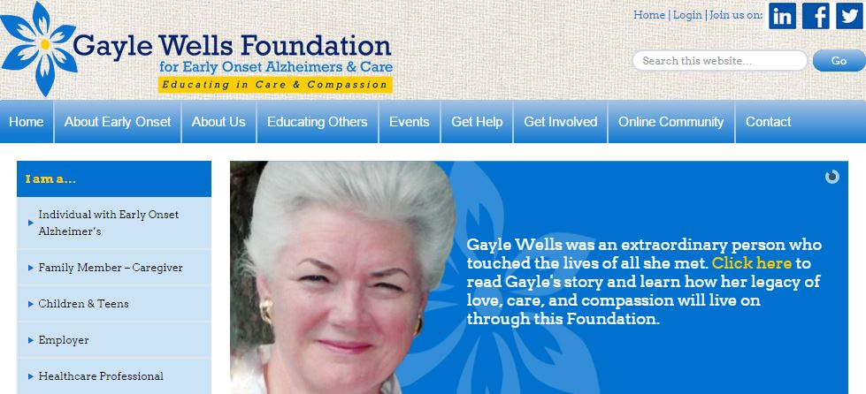 Gayle Wells Foundation | AIM Custom Media client