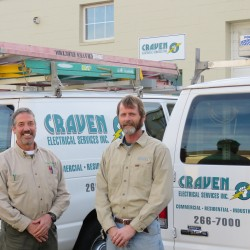 Crvaen Electrical Services | Richmond, VA | AIM Custom Media custom website design client