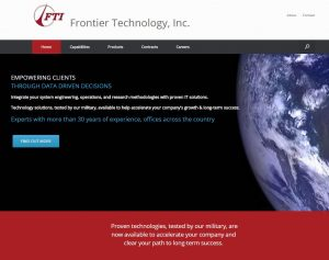 FTI Frontier Technologies | Website by AIM Custom Media